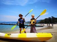 深圳海上团建游戏—皮划艇