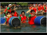 深圳水上团建—皮划艇+扎伐泅渡+CS野战素质扩展活动