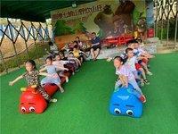 深圳晶晶九州幼儿园春游踏青到南澳七娘山亲子野炊农家乐一天活动